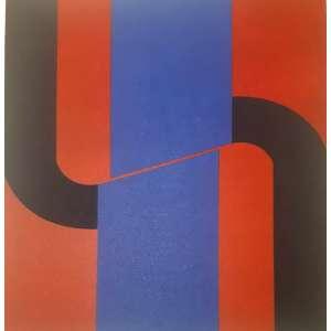 Rubens Ianelli - Composição - 66 x 47 cm - Gravura - Ass. CID e Dat. 2010 - Sem Moldura