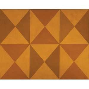 Arcângelo Ianelli - Balé das Formas – 80 x 100 cm – TST – Ass. CID e Dat. 1973 – Registrada no Instituto Ianelli sob o código BTST 20 .