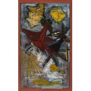 Sylberto Sette - Composição – 81 x 135 cm – AST – Ass. CIE e Dat. 1994