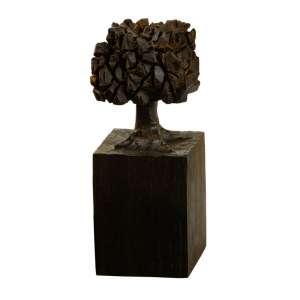 José Bento - Árvore – 20 x 8 x 8 cm – Madeira – Ass. Base