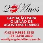 Errol Flynn Galeria de Arte - Leilão de Agosto/Setembro