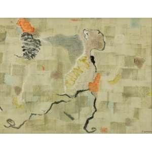 Thomaz Ianelli - Abstração - 50 x 66 cm - Aquarela - Ass. CID