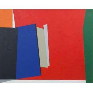 Eduardo Sued - Composição - 120 x 150 cm - Óleo Sobre Tela - Ass. CID e Dat. 2014 - Apresenta certificado de autentidade emitido pelo Artista