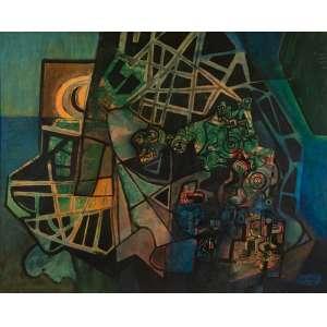 """Roberto Burle Marx - Composição - 126 x 158 cm - Panneaux - Ass. CID e Dat. 1991<br /><br /><br />""""(...) Os críticos mais interessados na minha obra têm, repetidas vezes, assinalado a ligação estilística entre a pintura e o paisagismo que faço. Geraldo Ferraz e Clarival Valladares têm indicado toda a minha obra como dentro de uma unidade plástica e eu mesmo sou o primeiro a reconhecer não haver diferenças estéticas entre o objeto-pintura e o objeto-paisagem construída. Mudam apenas os meios de expressão.<br /><br />Roberto Burle Marx<br />MARX, Burle. Conceitos de Composição em Paisagismo. In: _____. Arte e paisagem: conferências escolhidas. São Paulo: Nobel, 1987, p. 11.<br /><br />""""A notável qualidade na obra de Roberto Burle Marx foi, e é, a abertura que descobriu e enveredou trazendo a pintura que estava na tela, para a superfície paisagística, dessa maneira carregando o que era próprio da arte privatizada, de poucos, para o que ficou sendo de muitos numa das características mais nobres de nosso espaço urbano: a paisagem destinada ao consumo de todos, tratada por princípios e valores estéticos. Dividir, a esta altura o que ficou sendo pintura, não é mais possível. A obra de Roberto Burle Marx está regida por um só princípio, unificada por um nítido estilo individual e integrada a uma globalidade temática indivisível.""""<br /><br />Clarival do Prado Valladares"""