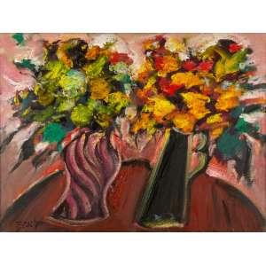 Carlos Bracher - Flores, Flores, Flores, Flores da Vida – 90 x 120 cm – Óleo sobre Tela – Ass. CIE – Anos 2000