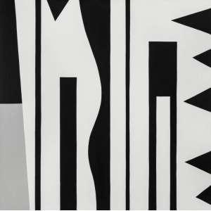 J. B. Lazzarini - Sem Tìtulo – 120 x 120 cm – Acrílica sobre Tela – Ass. Verso e Dat. 2012