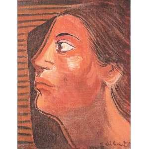 Di Cavalcanti, Emiliano - Mulher na Janela - Óleo s/ tela - 24, 5 x 19 cm - ass. inferior direito - déc. 60