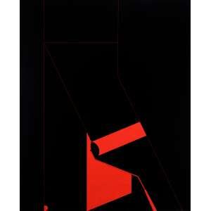 Wanda Pimentel - Sem Titulo - Óleo s/ tela - 103 x 83 cm - ass. verso - dat. 1973 Participou da exposição da artista na Petit Galeria em 1973