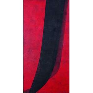 Tomie Ohtake - Sem Titulo - Óleo s/ tela - 100 x 50 cm - ass. inferior direito e verso - dat. 1986 Registrada no Instituto Tomie Ohtake
