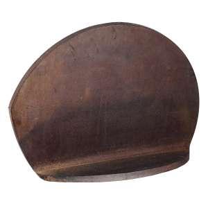 Amilcar de Castro - IRR-68 - Escultura de corte e dobra irregular de aço cortem, - 77 x 56 x 27 cm com 2, 5 de espessura - ass. - déc. 90. Com certificado do Instituto Amilcar de Castro