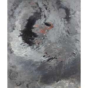 Tomie Ohtake - Pintura Cega - Óleo s/ tela - 120 x 100 cm - inferior esquerdo - dat. 1960. Registrado no Instituto Tomie Ohtake