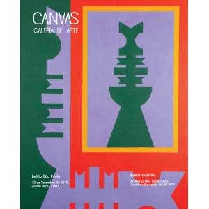 Canvas Galeria de Arte - Leilão dia 12 de Setembro
