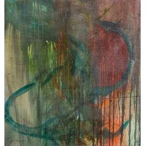 Jorge Guinle - A Hora Azul - Óleo s/ tela - 79 x 73 cm - ass. inferior esquerdo - dat. 1986