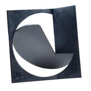 Weissmann, Franz - Sem Título - Escultura de ferro pintada - 18 x 19 x 11 cm - ass. - dat. 1988. 24/60