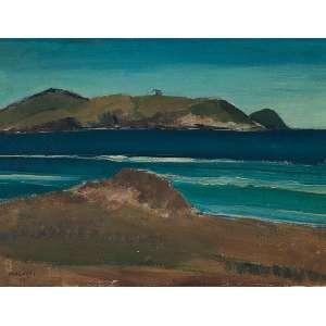 Pancetti, José - Cabo Frio - Óleo s/madeira - 26 x 34 cm - ass. inferior esquerdo e verso - dat. 1947
