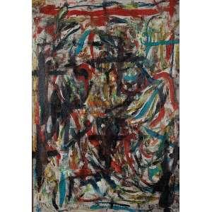 Jorge Guinle - Sem Título - Óleo s/ tela - 91 x 63 cm - ass. verso - dat. 1985