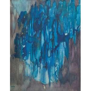 Cícero Dias - Entropia - Óleo s/ tela - 91 x 72 cm - ass. inferior esquerdo - Essa obra foi presenteada pelo artista para a Sônia, filha de Gilberto Freyre