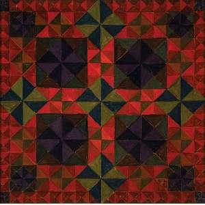 Antônio Maluf - N°13 - Óleo s/ tecido - 116 x 116 cm - ass. inferior direito