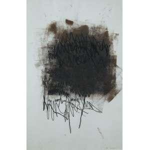 Mira Schendel - Sem Título - Óleo s/cartão - 46 x 31 cm - ass. inferior direito - dat. 1963