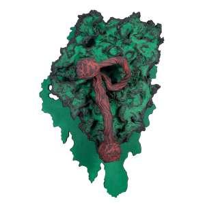 Krajcberg, Frans - Sem Título - Pigmentos naturais s/ raízes e madeira - 128 x 89 x 44 cm - ass.