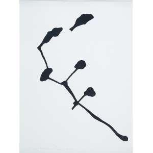 Anna Maria Maiolino - Série Marcas da Gota - Acrílica s/ papel - 32 x 24 cm - ass. inferior esquerdo - dat. 2008. Com cachê da Galeria Luisa Strina e certificado de autenticidade assinado pelo artista