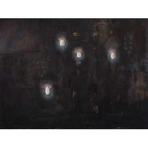 DANIEL SENISE - Sem Título - Óleo s/ tela - 135 x 180 cm - ass. verso - dat. 1990