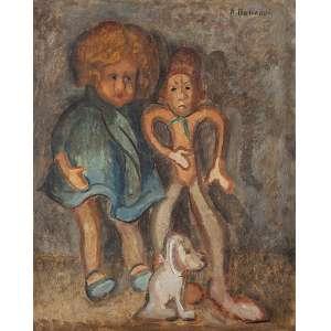 Bonadei, Aldo - Sem Título - Óleo s/madeira - 50 x 40 cm - ass. superior direito - déc. 30