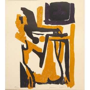 ALDEMIR MARTINS - Sem Título - Serigrafia, 44 x 40 cm, ass. inferior direito, 29/50