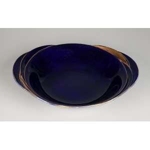 ARTISTA DESCONHECIDO - Salva de cerâmica art déco Carlton Ware, 5 x 23 cm, Inglaterra, déc.20
