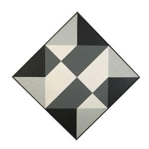 SACILOTTO, LUIZ - C8613 - Têmpera vinílica s/ tela, 113 x 113 cm, ass. inferior direito