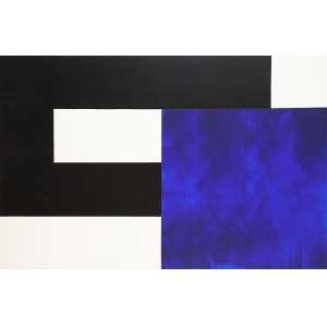 AMILCAR DE CASTRO - Sem Título - Acrílica s/ tela, 80 x 120 cm, ass. verso, dat. 1998. Adquirido no ateliê do artista. Registrado no Instituto Amilcar de Castro