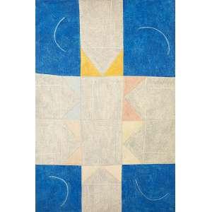 TITO ALENCASTRO - Vista Aérea de um Bairro, óleo s/ tela montado em madeira, 90 x 60 cm, ass., com cachê da Grifo Galeria de Arte.