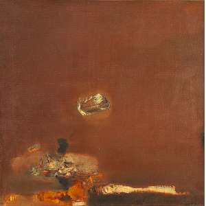 DI PRETE, DANILO - Sem Título, óleo s/ tela, 64 x 64 cm, ass., dat. 1961.