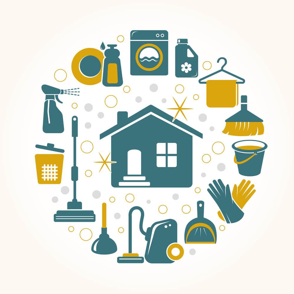 7 erros de limpeza da casa