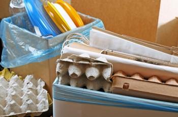 Material reciclado: faça seu próprio revisteiro