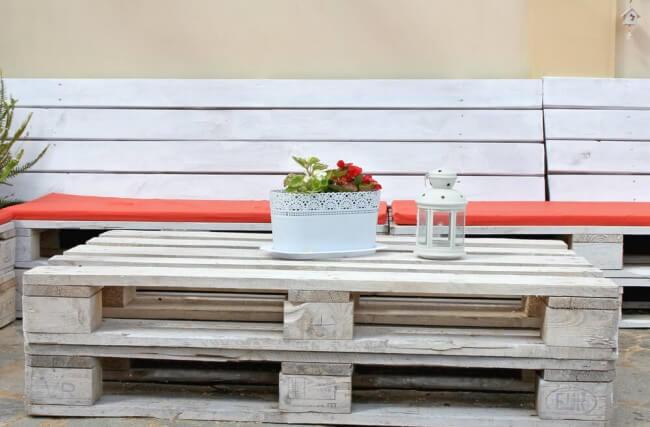 Aprenda a investir em pallets para a decoração da sua casa