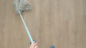 como limpar piso