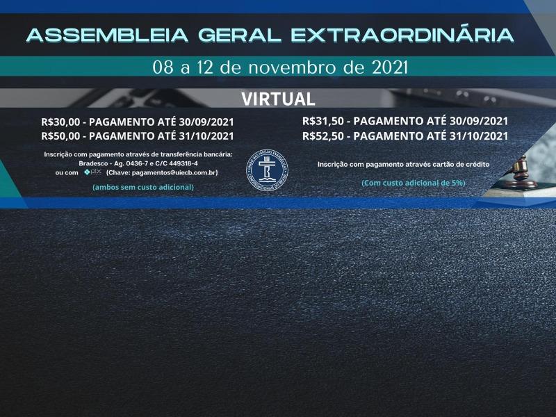 AGE - Assembleia Geral Extraordinária
