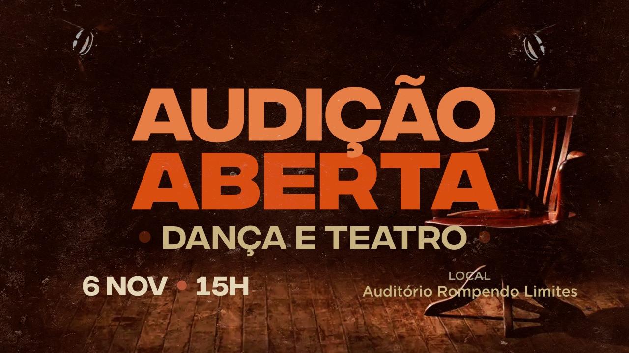 Audição Dança e Teatro