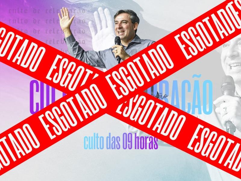 CULTO DE CELEBRAÇÃO - 09H