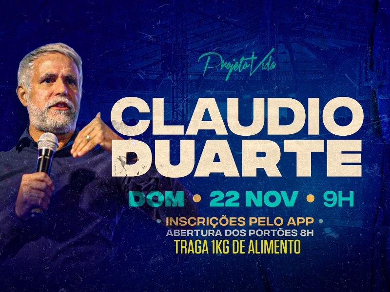 Celebração com Pr.Cláudio Duarte
