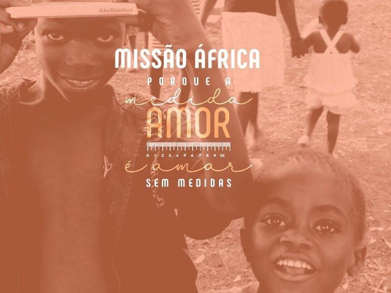 Apadrinhe uma Criança da Missão África