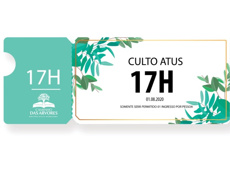 CULTO ATUS - 17H