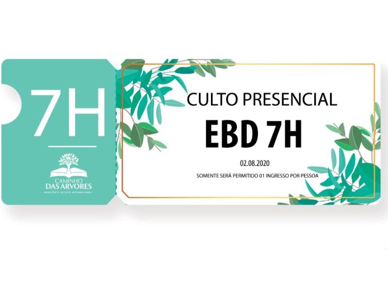 CULTO EBD 7H