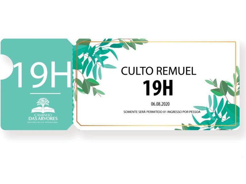 CULTO REMUEL 19H