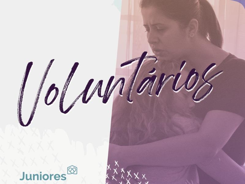 Seja um voluntário nos Juniores!