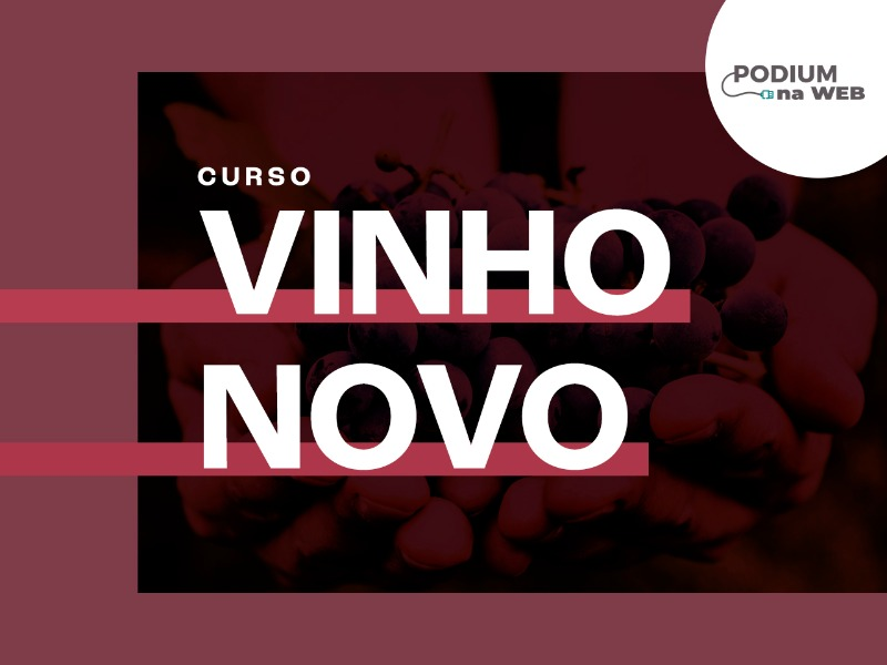Curso Vinho Novo - Módulo 2 (Online, Zoom)