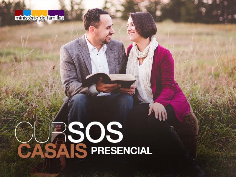 CURSO CASAIS - PRESENCIAL / QUARTA-FEIRA
