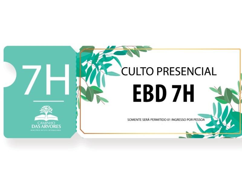 CULTO EBD - 7H