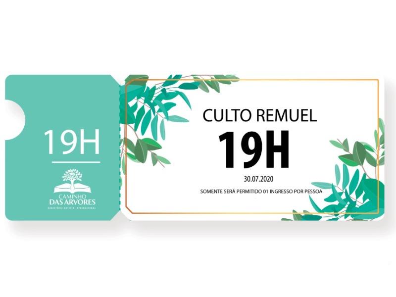 CULTO REMUEL - 17.09.2020